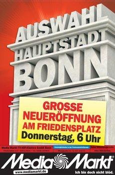 Angebote zur MediaMarkt Neueröffnung in Bonn