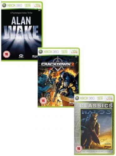 Halo 3 (Classics) / Crackdown 2 / Alan Wake zusammen für ~20,10€ inkl.Versand bei zavvi