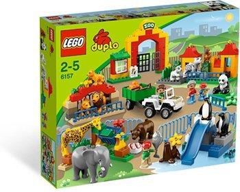 LEGO Duplo Großer Stadtzoo + große Bauplatte + Kleinteil für ca. 63€