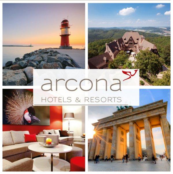 2 Nächte für 2 Personen in 10 arcona & Steigenberger 4 Sterne Hotels in Deutschland für 99€ - 3 Jahre gültig @ebay