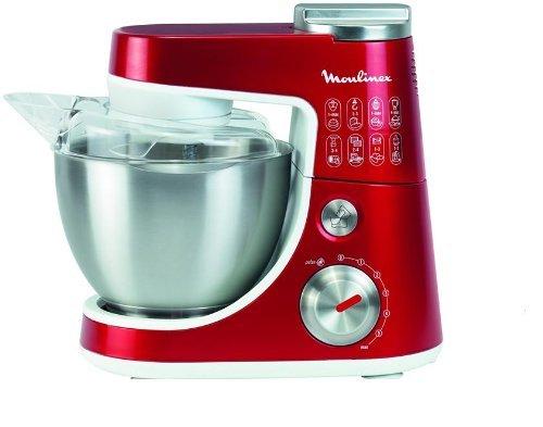 Küchenmaschine Moulinex QA411G in rot + Pasta-Box  für 159€ @ Saturn.de