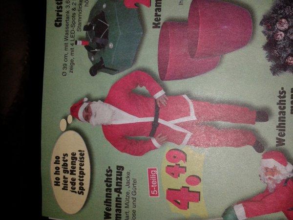Lokal Neumünster @Jawoll Kostüm Weihnachtsmann 5tlg