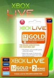 [Gamehubs] 14 Monate Xbox live für 36,99€