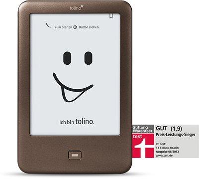 Tolino Shine mit Gratis Tasche und eBooks Guthaben über €25