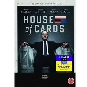 House of Cards Staffel 1 - UK-Import mit dt. Ton