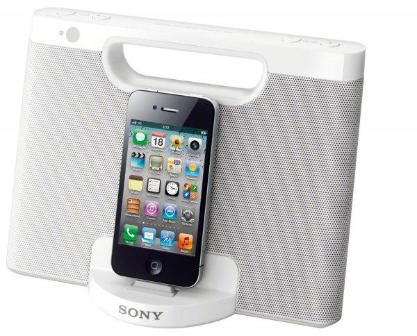 "Sony™ - Apple iPod/iPhone Docking-Lautsprecher ""RDP-M7iP"" (Weiß) [Refurbished] ab €26,58 [@Sony.de]"