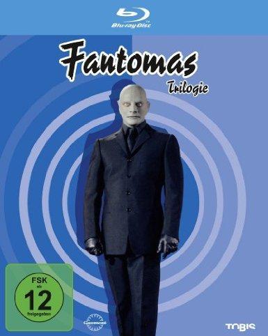 Fantomas - Trilogie [Blu-ray] @amazon.de für 16,97 € (für PRIME-Mitglieder oder bei Lieferung an einen HERMES Paket-Shop), sonst 20€ MBW / Gratislieferung durch Buch