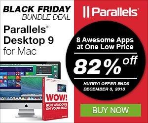 (MAC) Parallels 9 im Bundle mit 7 weiteren Programmen mit 82% Ersparnis !!!
