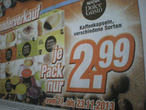 [Lokal] Dolce Gusto Kaspeln im Expert für 2,99€  (Bautzen+Freiberg+Pirna+Bischofswerda+Freital+Sebnitz+Ebersbach+Niesky+Weißwasser)