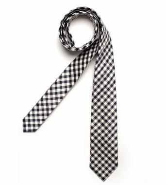 DIGEL Krawatte Gatsby in Dunkelblau kariert (Seide) für 3,99€ inkl. Versand