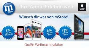[mStore] Apple iPhone 5c -5%  *  alle iPads -6%  *  alle Macs -12%