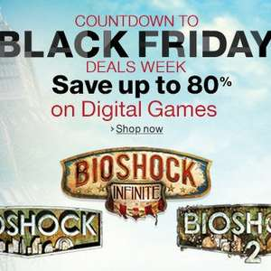 Amazon.com Black Friday Countdown [STEAM] [UPlay] - zB X-COM Collection (CLASSICS +EU + DLC) für 7,50€