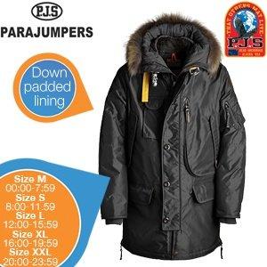 Parka Parajumpers Winterjacke (Herren) schwarz für 259 Euro @iBOOD