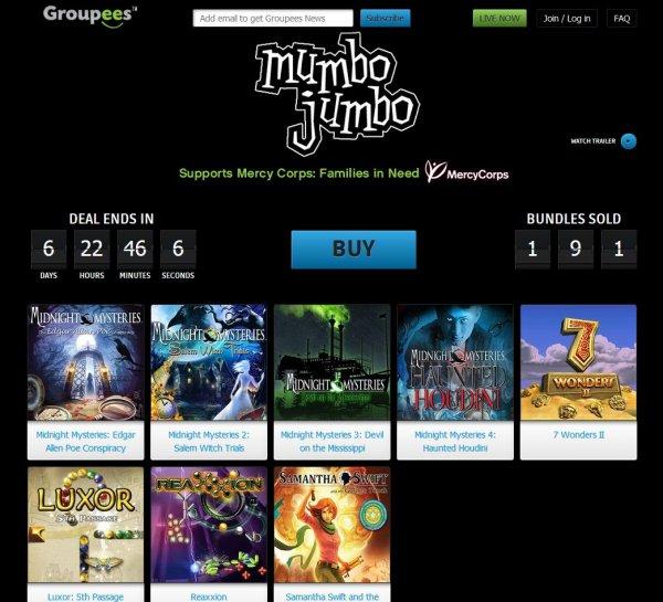 [Steam]Groupees Build a Mumbo Jumbo Bundle / Midnight Mystery 1-4 / Luxor: 5th Passage / 7 Wonders II und mehr