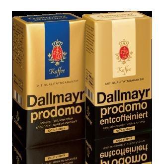 Bei REWE und KAUFLAND - Dallmayr Prodomo 500 g Kaffee gemahlen 34 % günstiger - je 3,59 €