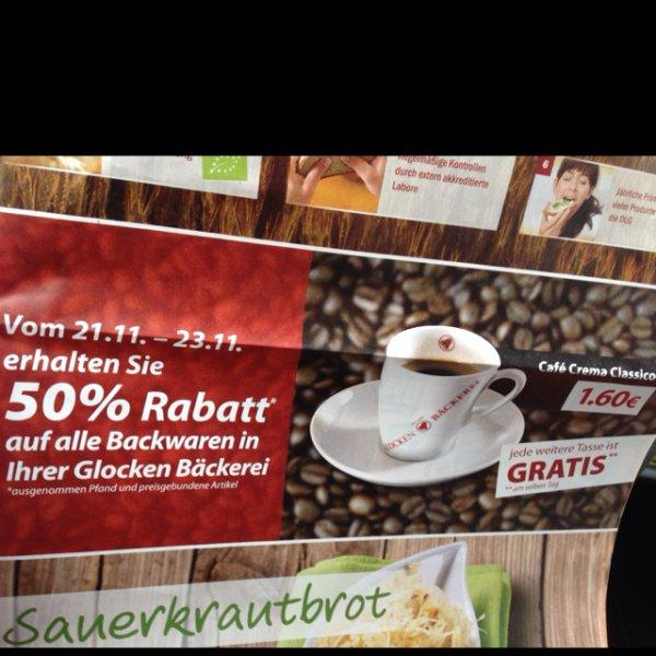 Glocken bäckerei 50% auf alles mörfelden walldorf