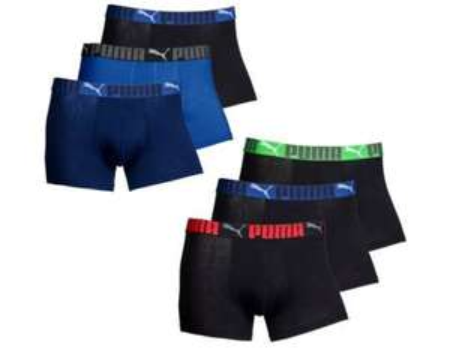6 x Puma Boxershort in schwarz oder blau für 22,49 € inkl Versand @MP