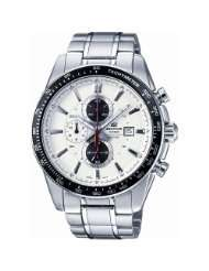 [amazon.co.uk] Casio Edifice EF-547D-7A1VEF  in weiss für 63,-
