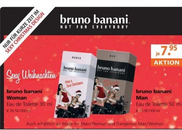 Müller Bruno Banani Parfüm 7,95 -  3€ Gutschein macht also 4,95€