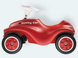 Bobby Car mit Fluesterraedern (nervenschonend!)