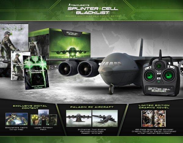 Tom Clancy's Splinter Cell Blacklist Paladin Multi-Mission Aircraft Edition(PS3) für 82€ @Amazon.com
