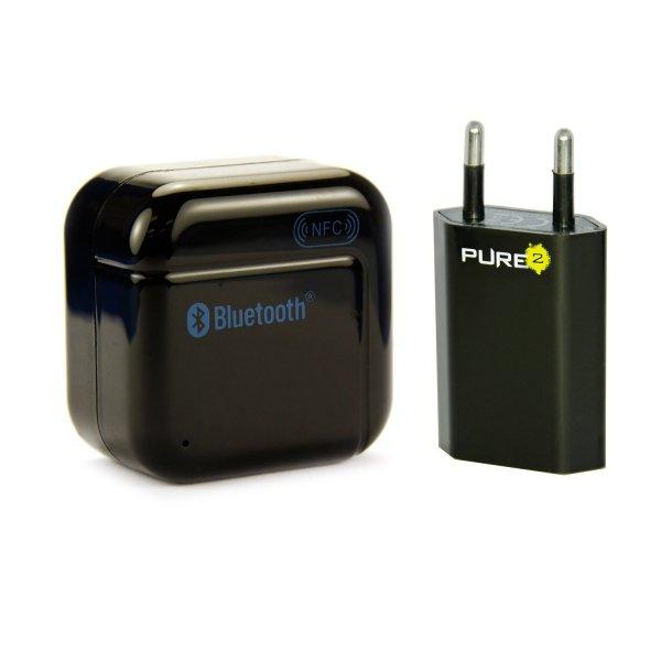 Bluetooth HiFi Musikadapter mit NFC bei Amazon (Prime = 14,90 Euro)