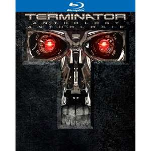 Terminator Anthology Blu-Ray 18,20€