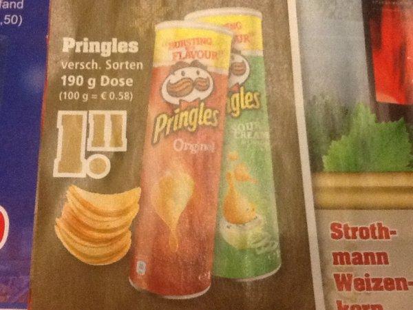 Pringles versch. Sorten @TrinkGut