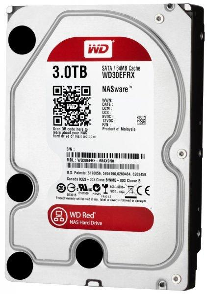 3TB Western Digital RED NAS 3000GB @ eBay Playcom