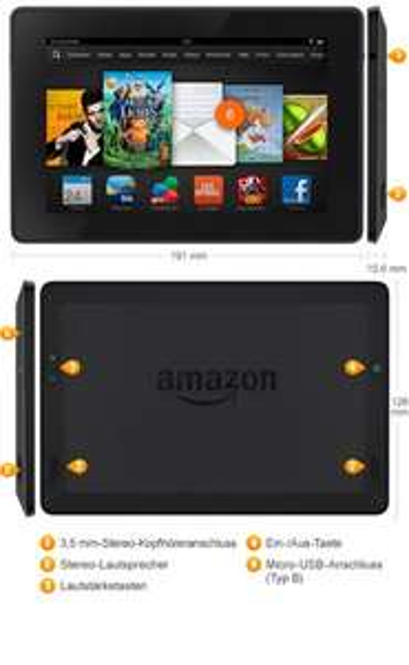 "Cyber Monday - Kindle Fire HD 7"" 8GB 99€ @ Amazon.de"