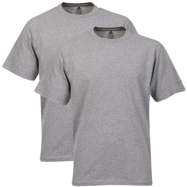 Adidas™ - Herren 2er-Pack T-Shirt (Grey) ab €9,56 [@Zavvvi.com]