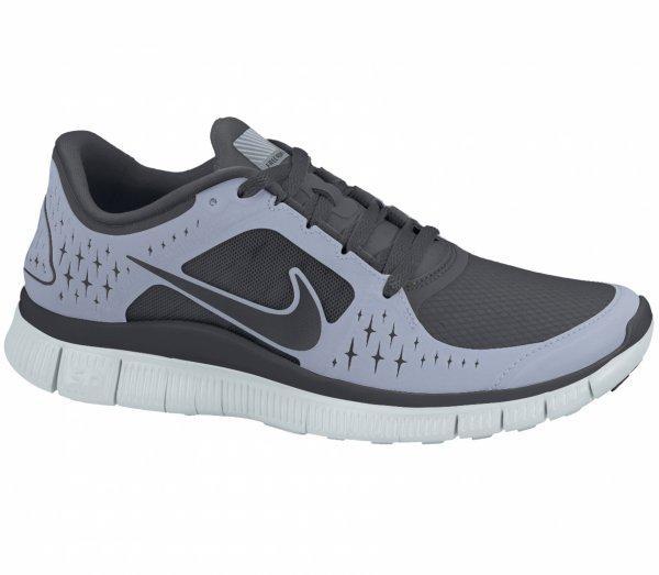 Nike Free Run+ 3 schwarz/grau für 50,00 Euro @ keller-sports.de