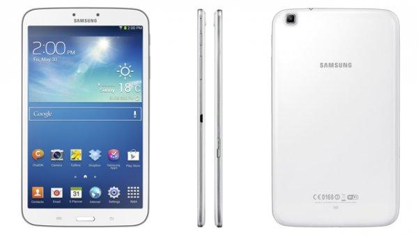 Samsung Galaxy Tab 3 8.0 16GB Wifi+3G Weiss für  281,41 €