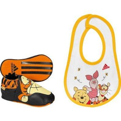 Adidas Babyschuhe Gr. 19 Winnie Pooh mit Lätzchen bei Amazon