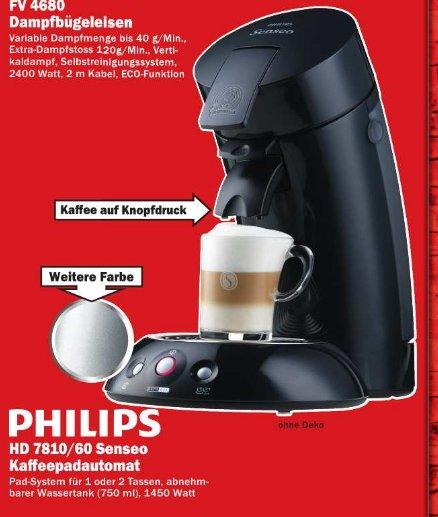 [MM Bremerhaven ] Philips Senseo 2 HD 7810 60 Kaffemaschine 1450 Watt 33€