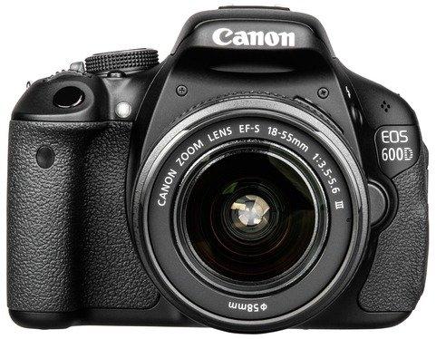 DSLR Kamera Canon EOS 600D Kit + EF-S 18-55 DC III  @ebay 379€
