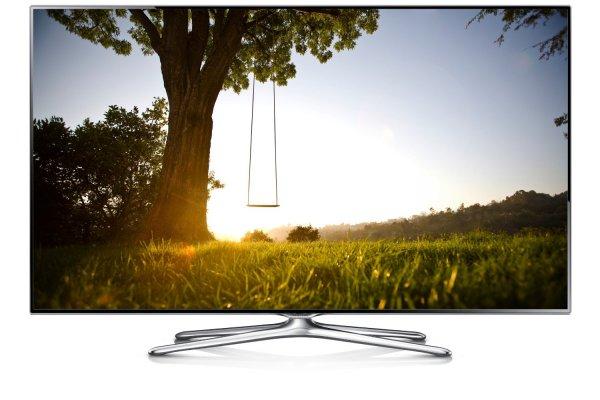 Samsung UE40F6500 101 cm (40 Zoll) 3D-LED-Backlight-Fernseher, EEK A (Full HD, 400Hz CMR, DVB-T/C/S2, CI+, WLAN, Smart TV, HbbTV, Sprachsteuerung) schwarz