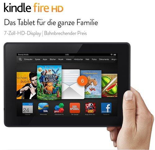 Das neue Kindle Fire HD-Tablet