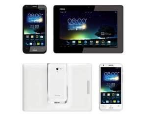 Asus PadFone 2 SmartPhone 64GB, 2GB RAM, Android 4 inkl. 25.7cm (10.1Zoll) Tablet in Weiß / Schwarz