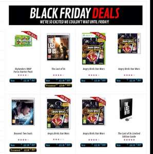 Black Friday - nur dieses WE: The Last of US (PS3) und Beyond Two Souls (PS3) für je 29,85 inkl. Versand