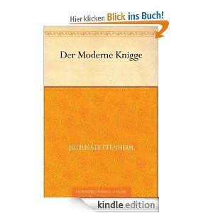 """""""Der Moderne Knigge"""" und """"Über den Umgang mit Menschen"""" kostenlos im Kindle Shop"""