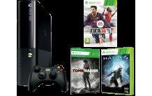[ÖSTERREICH] Saturn: MICROSOFT Xbox 360 250GB + FIFA 14 + Halo 4 + Tomb Raider + 1 Monat Xbox Live