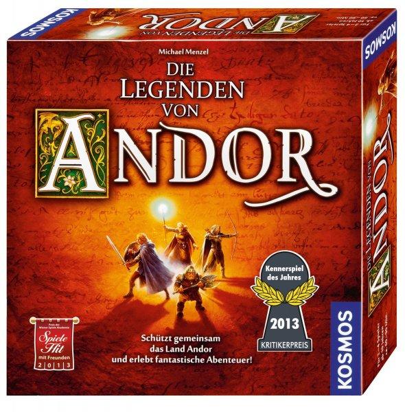 Amazon - Brettspiel: Die Legenden von Andor, Kennerspiel des Jahres 2013