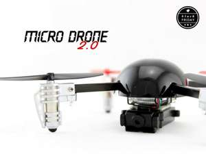 "Mini Quadrocopter ""The Micro Drone 2.0"" mit Kamera"