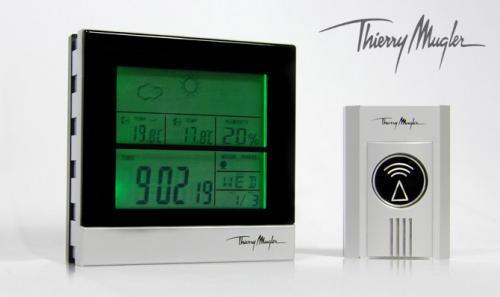 Design Funk Wetterstation by Thierry Mugler für 8,99 Euro @Ebay