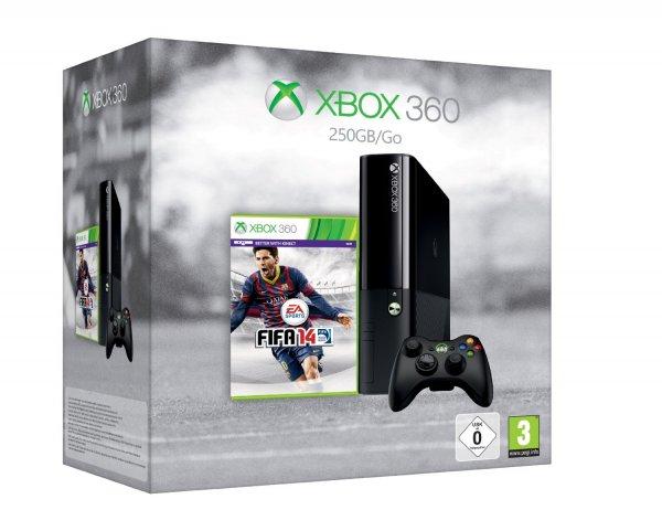 Cyber Monday - Xbox 360 250GB (Xbox One Design) + FIFA 14 für 180€ + weitere Rabatte @Amazon