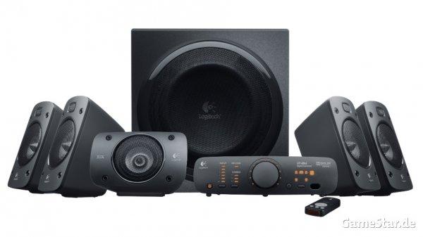 Logitech Z906 5.1 Lautsprechersystem THX und Dolby Digital für 219,90€ @ ebay (nicht neu)