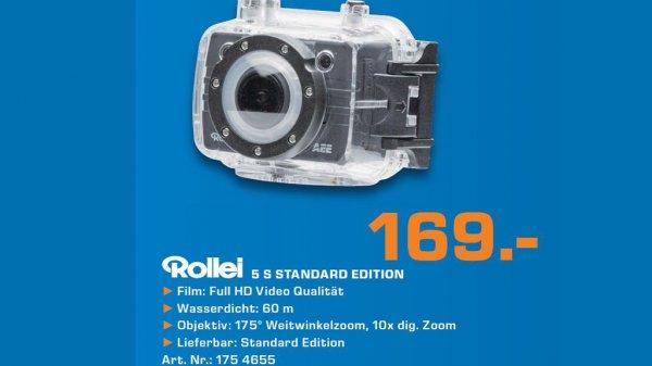 [SATURN, lokal noch günstiger] Rollei Bullet 5s standard edition 169,- € + 4,99 Versand