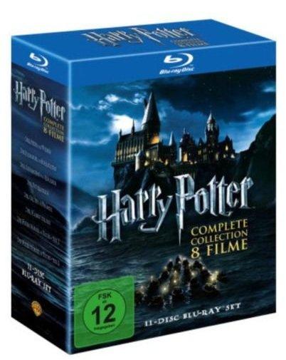 Harry Potter Komplettbox auf 11 Blu-Rays für nur 41,41 EUR inkl. Versand [Blu-Ray]