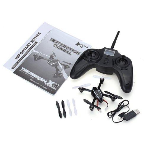 Mini Quadrocopter Hubsan X4 H107 2.4 GHZ RC für nur 32,99 EUR inkl. Versand